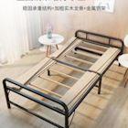 熱銷 1m1.2米摺疊床單人家用成人木板簡易鐵架實木硬板出租用房經濟型免運