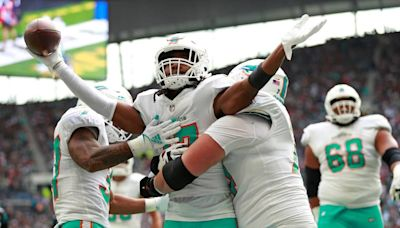 Tagovailoa's return not enough as Dolphins lose to Jaguars in London, fifth straight defeat