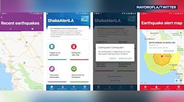 Eyewitness This: USGS, Garcetti announce updated release of ShakeAlertLA earthquake warning app