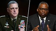 Key takeaways from Gen. Milley, Secy. Austin's Senate testimony on Afghanistan withdrawal