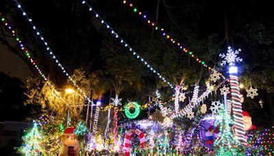 Let the lights of the season shine upon you: Christmas light displays around Miami