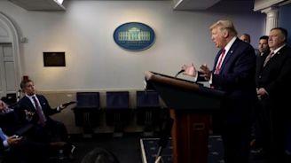 Trump throws temper tantrum