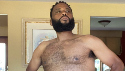'Black-ish' Actor Anthony Anderson Joined Will Smith's 'Dad Bod' Challenge