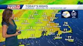 Video: Humid with spot showers