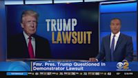 Former President Donald Trump Gives Video Deposition In Trump Tower Security Lawsuit