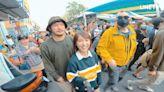 野生黃秋生現身台南被包圍 KID直呼「像媽祖遶境」