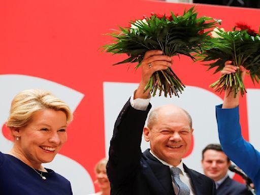 德國變天!梅克爾保守派敗北 蕭茲組「紅綠燈」聯盟