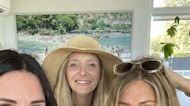 Courteney Cox, Jennifer Aniston, and Lisa Kudrow Had A Very Friends Fourth of July