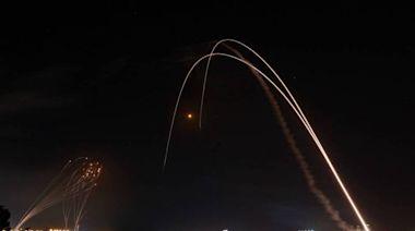 巴勒斯坦200枚火箭空襲!以色列「鐵穹」攔截震撼影片曝光