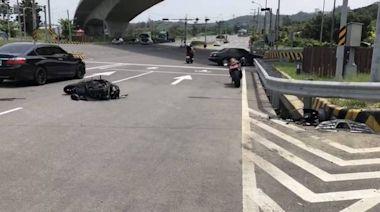 悲傷母親節!與休旅車碰撞 18歲騎士遭撞飛搶救不治