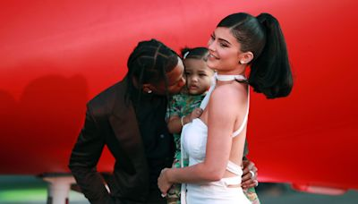 Travis Scott shared an adorable new photo of Stormi while wishing Kylie Jenner a happy Mother's Day