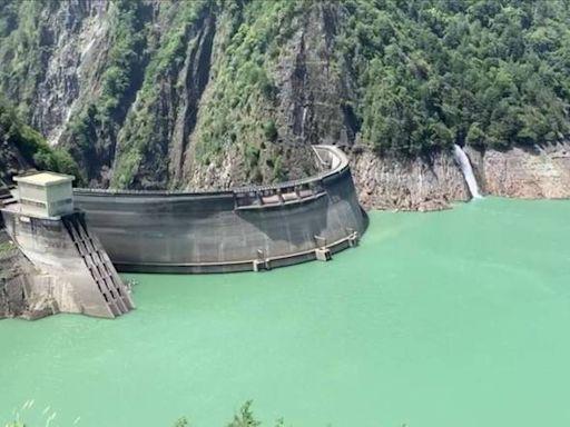 德基水庫再進帳193萬噸 蓄水量突破1萬噸