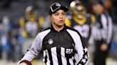 NFL hires Maia Chaka as 1st Black female on-field official