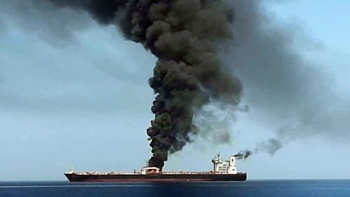 Gulf of Oman: Iran protests to UK ambassador