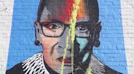 Missouri artists turning anger into positive message after Ruth Bader Ginsburg mural vandalized