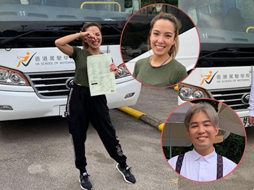 旨呈同Sarika挑戰揸巴士考牌「肥佬」下月補考誓要攞到牌 | 蘋果日報