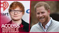 Prince Harry Tells Ed Sheeran That Two Kids Is 'Definitely A Juggle'