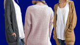 This cozy cardigan is like 'wrapping yourself in a favorite knitted blanket' — and it's on sale at Amazon