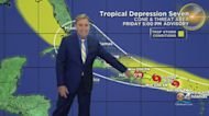 Tropical Depression Seven Forms In The Atlantic