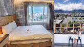 花蓮火車站前平價旅店「洄瀾窩青年旅舍」窗外就是壯麗山景!還提供上山下海各種旅遊體驗