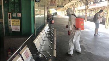 驚傳確診案例搭自強號 台鐵緊急大消毒