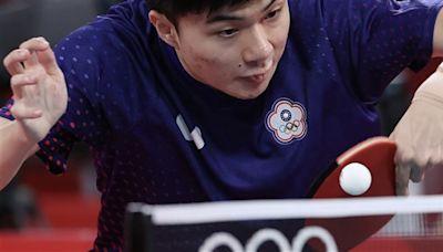 奧運桌球鄭林配宜蘭合體 林昀儒談個人賽惜敗心聲