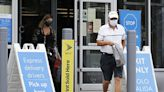 Walmart tells staff masking on again