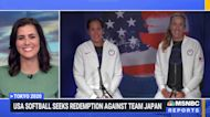 USA Softball seeks redemption against Japan after 13-year Olympic hiatus