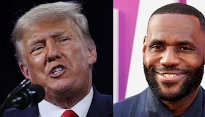 Trump suggests LeBron James could get surgery to compete in women's sports
