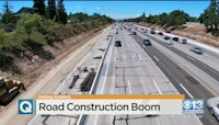 Road Construction Boom In Sacramento