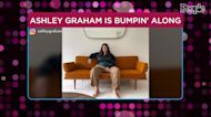 Pregnant Ashley Graham Models Blue's Clues Inspired Outfit, Says Steve 'Is Hot Now'