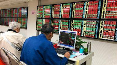 台股爆天量後指數震盪走高 漲逾百點