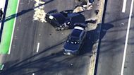 CHP chase ends in crash near Fremont Auto Mall; suspect arrested
