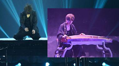 MIRROR演唱會丨姜濤彈古箏跳熱舞跪地 上吊台飛越Star Hall驚驚 | 蘋果日報