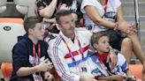 David Beckham's daddy duty, plus more celebs at the Olympics over the years