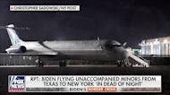 NIGHT FLIGHTS: Biden flies unaccompanied migrants from Texas to New York in the 'dead of night'