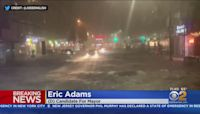 Brooklyn Borough President Eric Adams Speaks To CBS2 About Mass Flooding In NYC