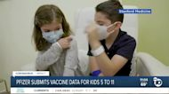 Pfizer submits COVID-19 vaccine data for kids 5 to 11