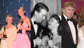 Flashback: iconic photos from Oscars past