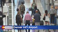 Passengers Crowd Denver International Airport After July 4th Weekend