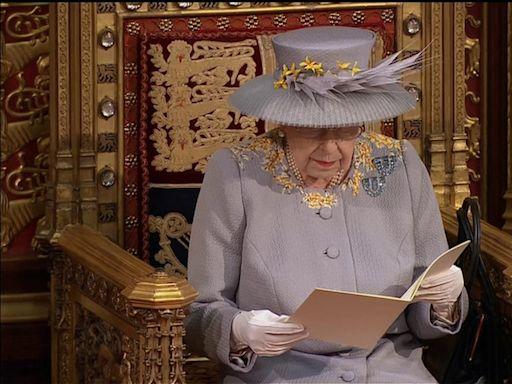英女王喪夫後首次施政演說展開國會新會期