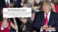 The grift goes on for former President Trump