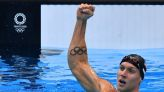 Olympics-Swimming-Dressel and McKeon complete sprint gold doubles