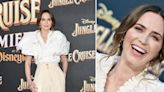 Emily Blunt Turns Heads In Trendsetting Neutral Schiaparelli Spring 2021 Look At World Premiere Of Disney's 'Jungle Cruise' — Get...