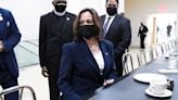 Kamala Harris Sits at 'White's Only' Counter Where the 'Greensboro Four' Staged Famous Protest 60 Years Ago