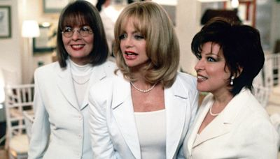 Diane Keaton shares her favorite scene from 'First Wives Club,' best film kiss