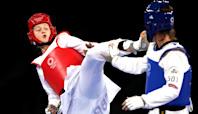 Team GB's Lauren Williams wins taekwondo silver