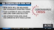 Massachusetts Moves Coronavirus Risk Map To Thursdays To Add More Data