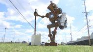 New art installation raises awareness about illegal dumping in Camden, NJ