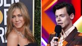 Jennifer Aniston Twins in Gucci With Harry Styles: 'Call Me Harriet Styles'